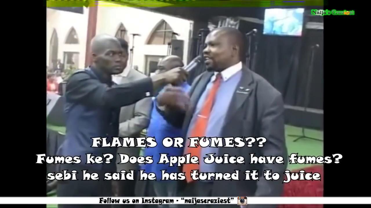 Pastor Makes Congregation Drink Petrol
