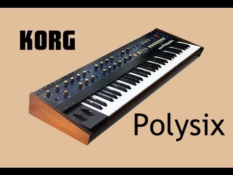 KORG POLYSIX Analog Synthesizer 1981 | HD DEMO | NEW PATCHES