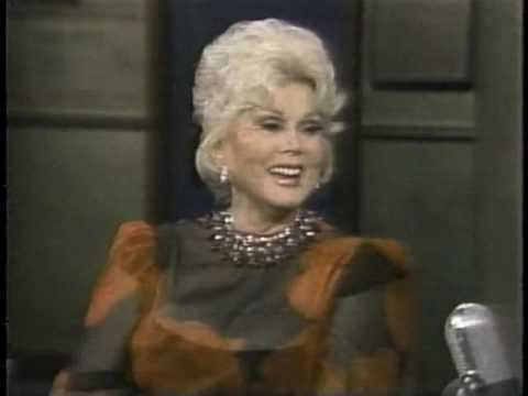 Zsa Zsa Gabor on Late Night, November 3, 1983