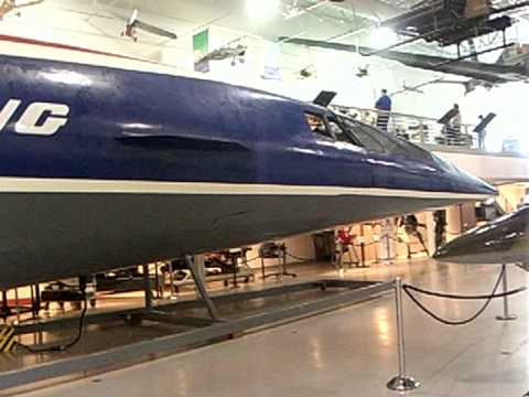 Boeing 2707 SST (Super Sonic Transport) an Original Mock up -4