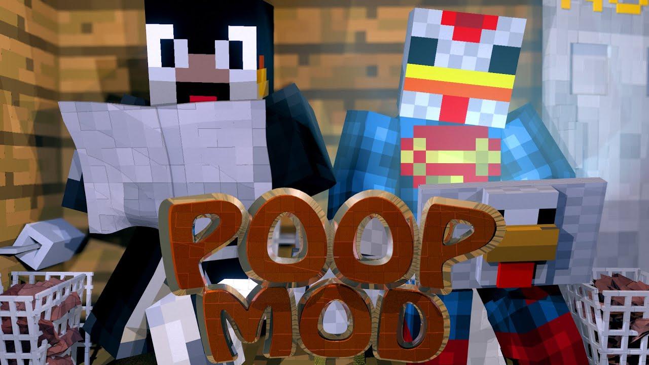 Minecraft Mods | POO MOD Showcase (Toilets, Toilet Paper ...
