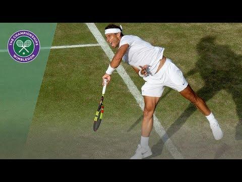 Rafael Nadal vs Nick Kyrgios Wimbledon 2019: Best Shots