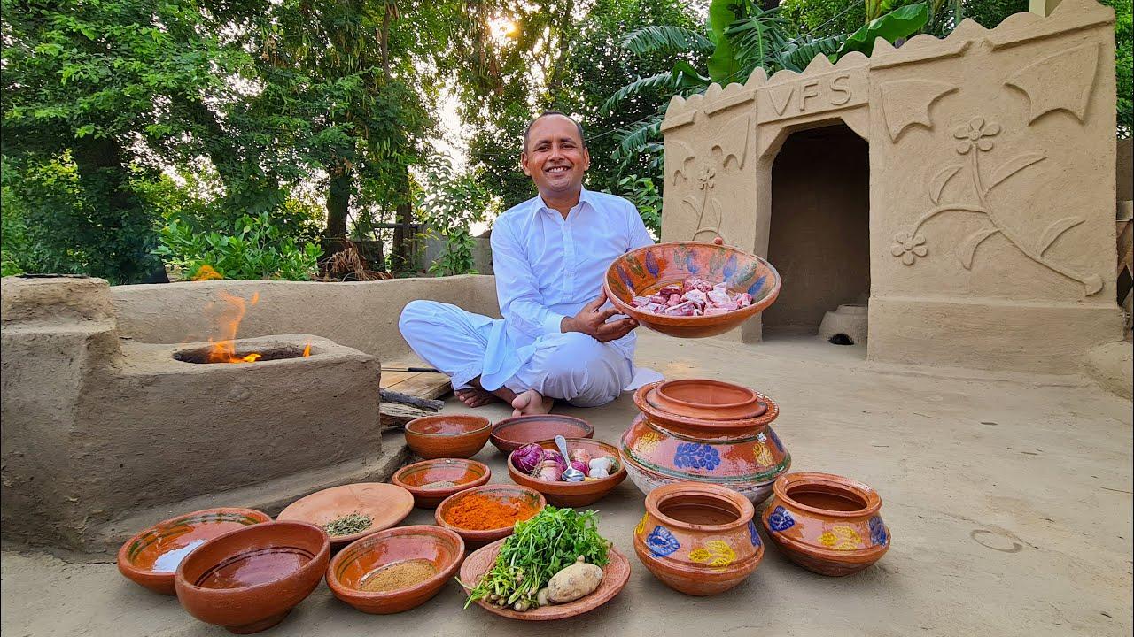 Mutton Afghani Gravy   Eid Special   Unique & Simple   Mubashir Saddique   Village Food Secrets