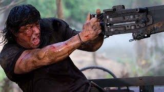Rambo 4 - Daniel Craig, Pierce Brosnan,Sylvester Stallone, Angelina Jolie,Jeremy Renner, HD.