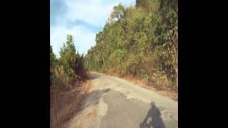Bike to top of Takhli Radar Hill