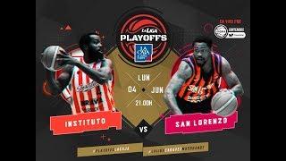 Liga Nacional: Instituto vs. San Lorenzo   #LaLigaEnTyCSports