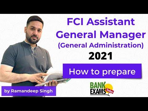 FCI AGM 2021: Exam Pattern and  Syllabus