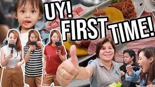 VLOG # 72 : FIRST TIME MAG TRY NG KOREAN FOOD + UNIQLO SHOPPING and HAUL - Via Austria