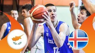 LIVE Cyprus v Iceland FIBA U16 European Championship Division B 2018