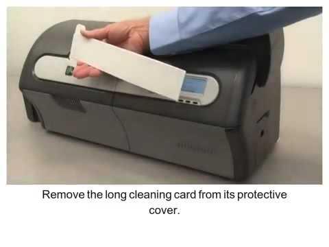 ZXP Series 7 How-To- Clean the Card Path เครื่องพิมพ์บัตร ไอดี การ์ด ปริ้นเตอร์