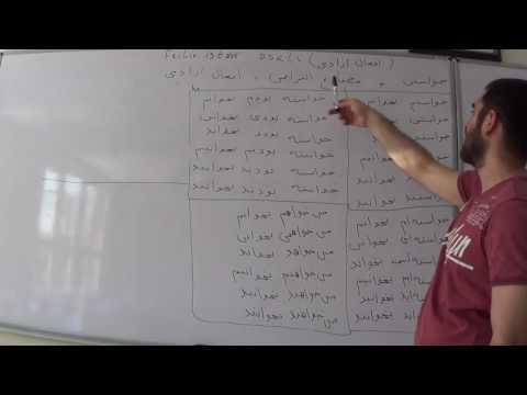 Fars dili. 44-cü dərs. Feilin istək şəkli. thumbnail