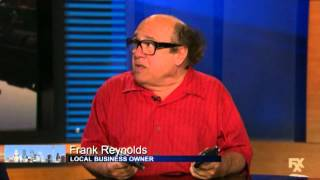 Frank Reynolds stance on guns
