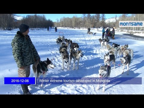 Winter extreme tourism developed in Mongolia