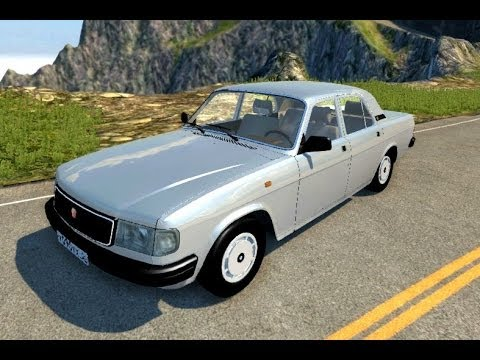 BeamNG.Drive Mod : Volga GAZ-31029 (Crash test)