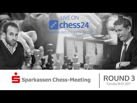 Dortmund Chess 2017 Round 3, live commentary
