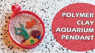 Fimo Vrijdag Goudvis Resin Aquarium Hanger | Craftmama