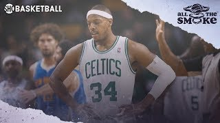 Paul Pierce Wanted To Leave The Celtics Before The Big 3 Was Formed | ALL THE SMOKE