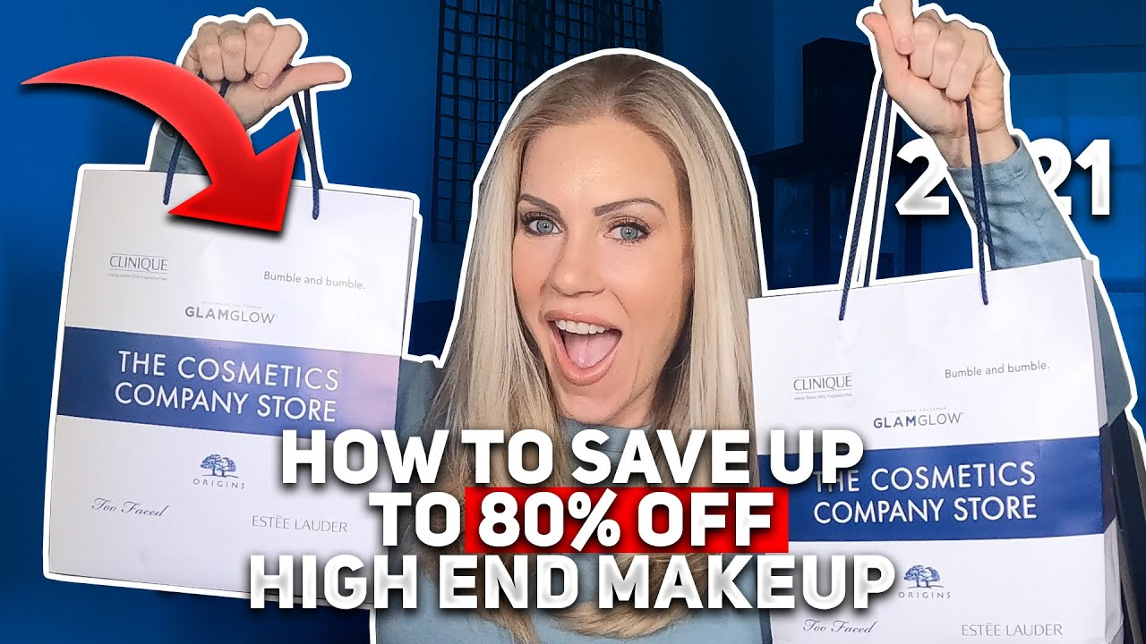 Cosmetics Company Store Haul | How To Save Up To 80% on High-End Make-up
