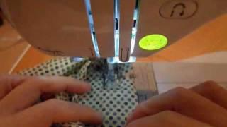 巾着の紐通し部分の縫い方 thumbnail