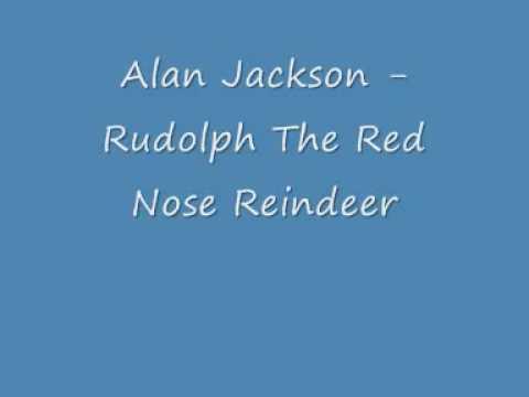 Alan Jackson   Rudolph The Red Nose Reindeer