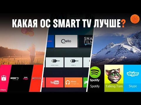 Чем отличаются Tizen OS, WebOS и Android TV в 2019 году?