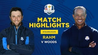 Woods v Rahm | Ryder Cup Sunday Singles Highlights