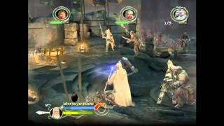 Live Gameplay/El señor de los anillos - El Retorno del Rey/Camino del Rey-La Puerta negra