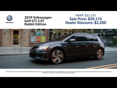New 2019 Volkswagen Jetta Tiguan Golf GTI Low Purchase Price Specials! VA MD