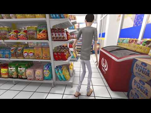 "CGI 3D Animated Short Film - ""Go ALEX!"" karya__Hari Suwarno"