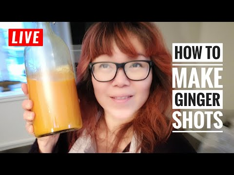 How To Make Ginger carrots tumeric shot without juice blender