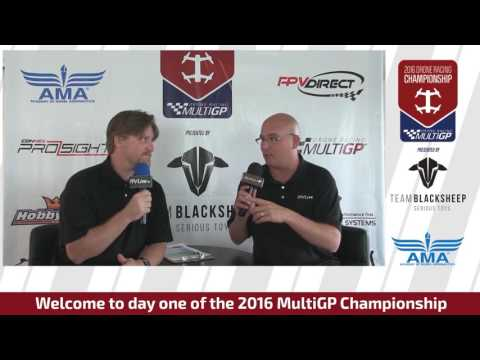 2016 MultiGP Drone Racing Championship Re-Broadcast Episode 1