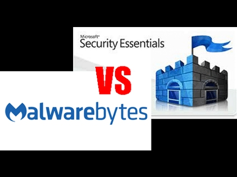 MALWAREBYTES Vs WINDOWS SECURITY ESSENTIALS - Which is better?