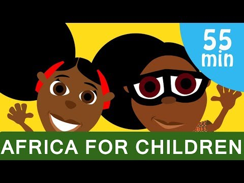 Bino & Fino Compilation - Fun, Educational Cartoon About Africa