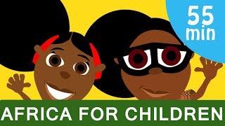 bino fino compilation fun educational cartoon about africa