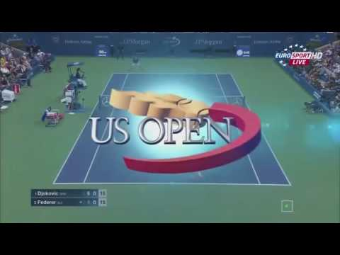 Roger Federer vs Novak Djokovic   US Open 2015 Final Highlights HD
