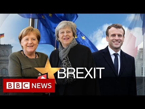 Theresa May visits Paris and Berlin to seek backing for Brexit delay – BBC News