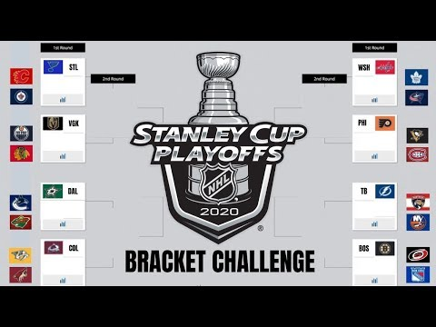 24-Team Stanley Cup Playoff Predictions 2020 | NHL Bracket Challenge