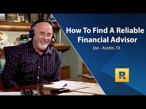 How To Find A Reliable Financial Advisor