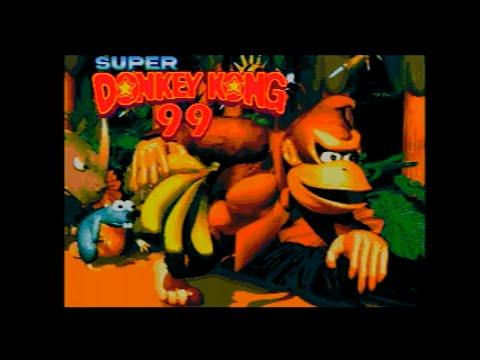 Mega Drive Longplay - Super Donkey Kong 99