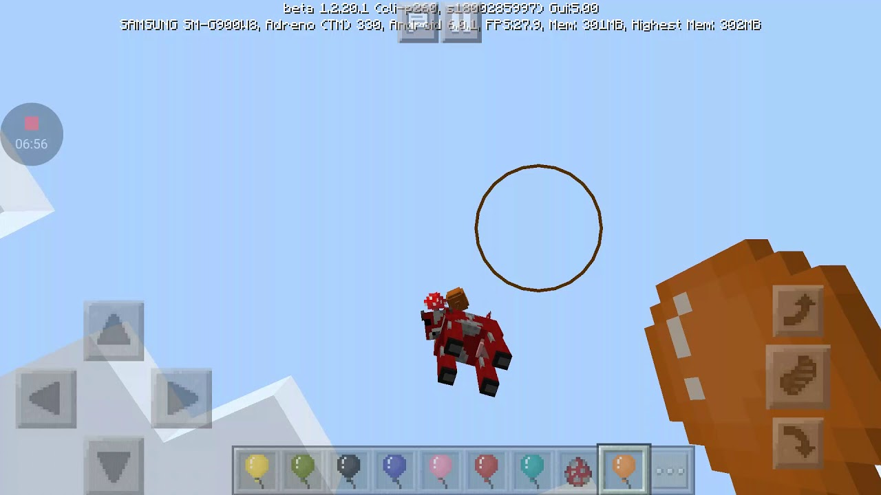 Minecraft education edition testing and how to make balloons