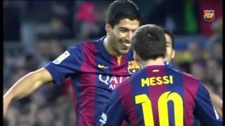 Luis Suárez: Amazing goal vs Levante (5-0, 2014/15)