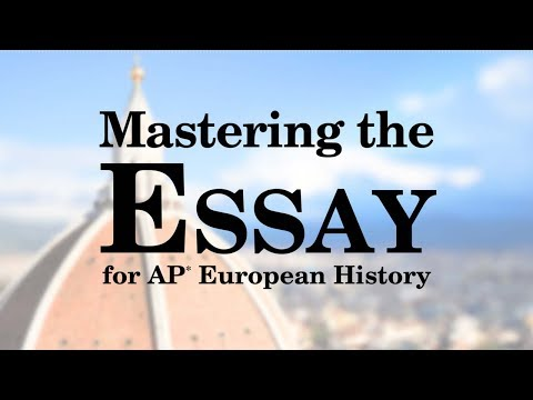 Видео Ap euro essay grading rubric