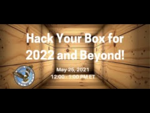 Hack Your Box for 2022 and Beyond