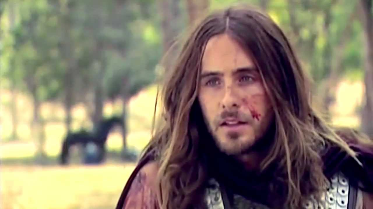 Jared Leto Interview On The Set Of Alexander Youtube