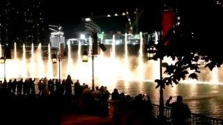 Dubai Fountain Michael Jackson 2016