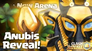 Clash royale - introducing the Anubis + New arena (new legendary card, ancient update concept idea)