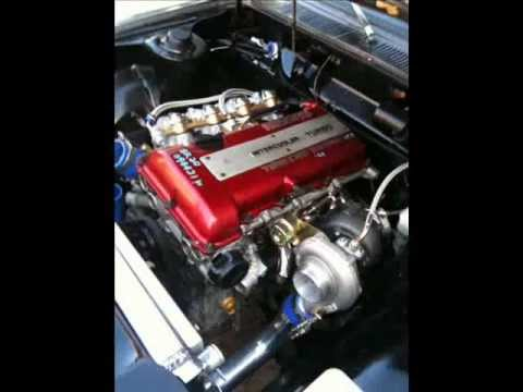 datsun 510 sr20 swap - YouTube