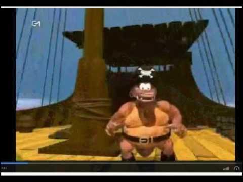 Donkey Kong - Chanson de Scurvy le pirate (Un singe à la mer)