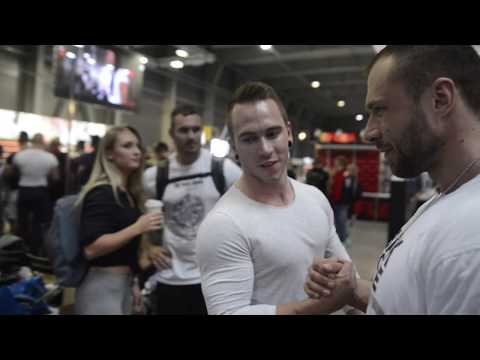 Meeting my fans at the EVLS Prague Pro 2017 EXPO