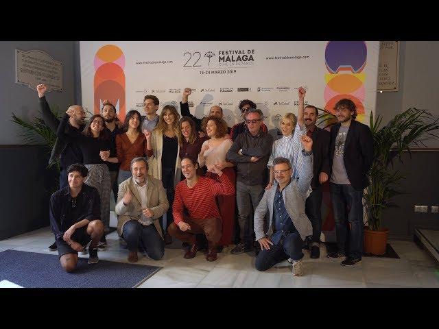 Photocall Premiados #FundidoaNegro #22FestivalMalaga